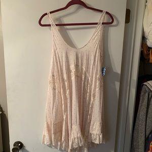 Free People Boho Romantic Slip Dress